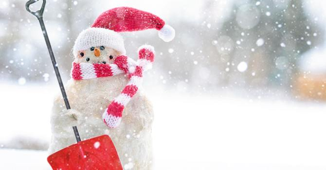 Shovelling Snow Safely image